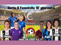 Serie A Femminile 10° giornata, c'è Fiorentina-Inter ...