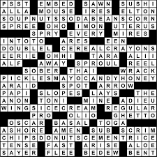 17 23 2017 crossword puzzle answers