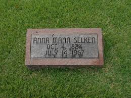 Anna Mildred Mann Selken (1884-1967) - Find A Grave Memorial