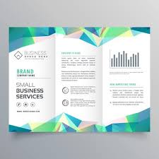 Brochur Design Elegant Gray Trifold Business Brochure Design