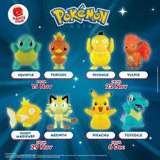 mcdonald s free pokemon happy meal toys 15 november 2018 12 december 2018