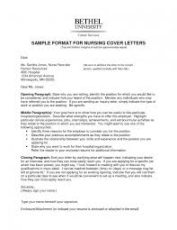 Resume Examples For Nursing How To Write A And Cover Letter Students