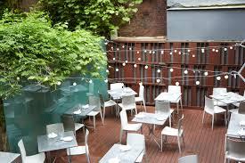 Outdoor Seating Italian Restaurant