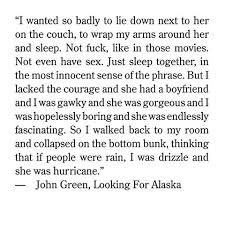 Looking For Alaska Quotes With Page Numbers Impressive Quotes About Moving On John Green 48 Quotes