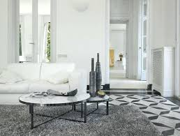 marble round coffee table contemporary circus by partners marquetry west elm marble round coffee table