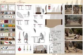 Институт архитектуры и дизайна Портфолио Проект уличного кафе