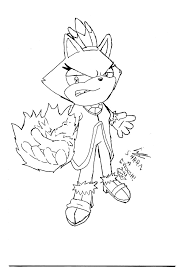 Blaze S Free Colouring Pages Blaze The Cat Coloring Pages Radiokotha
