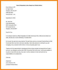 Writing Two Weeks Notice How To Write A Two Week Notice Template Business