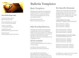 Templates For Church Programs Church Service Bulletin Template Bulletin Template Church