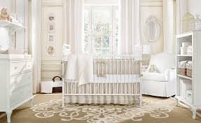 Baby Girl Nursery With Soft Neutral Tones