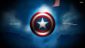 captain america typography flag marvel cinematic universe shield digital art hd