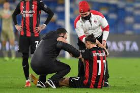 AC Milan sweating over Ibrahimovic after star striker leaves Napoli match  with muscle injury