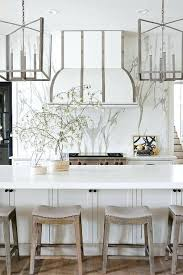 gray counter stools. Saddle Counter Stools Gray Wood Linen Steel And Glass Lanterns