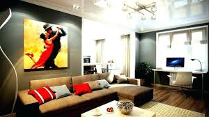 gray wall brown furniture. Furniture For Gray Walls Grey Couch Wall Color Ideas In Living Room With Decorating Brown