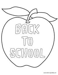 Small Picture Free Printable Back To School Coloring Pages Coloring Pages Online