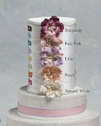 Paper Rose Porcelain Quinceanera Sweet Sixteen Cake Topper