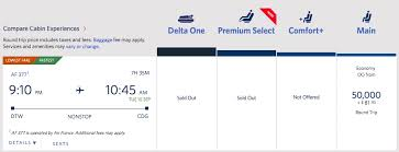 Delta Flight Rewards Chart How To Use Delta Miles For Free Tickets To Europe Million