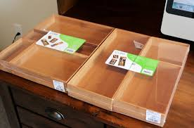 wooden desk drawer organizer. Delighful Organizer Amusing Wood Desk Drawer Organizer  On Wooden A