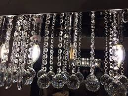 ella fashion clear k9 crystal chandelier dining room light fixtures polished chr