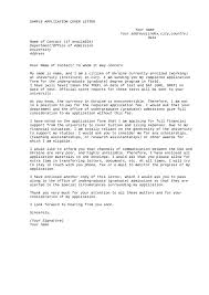 application letter format how to write an application letter application letter sample 03