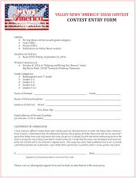 valley news ldquo america rdquo essay contest reeder media a submission form click here