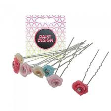 Daisy Design <b>Набор шпилек для волос</b> Caramel 6 шт ...