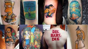 The Top 50 Best Simpsons Tattoos Of 2015 Four Finger Discount