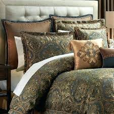 rust colored bedding jewel tone comforter sets queen blue me throughout design rust colored king bedding