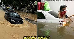 Image result for Penang flood victims