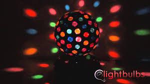 full image for superb disco ball light 21 led mirror disco ball dance party light fixture