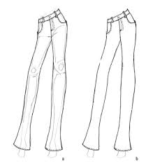 How To Draw Pants How To Draw A Basic Pair Of Fashion Pants Dummies
