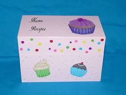 Decorative Recipe Box 100 best Hand Painted Recipe Boxes images on Pinterest Recipe 31