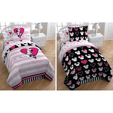 Minnie Mouse Bed Set Full Mouse Bedding Set Queen Toddler Bed Sheets ...