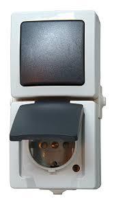 Hallo, ich biete 5 neue schalter steckdosen kombinationen von der marke jung an versand gegen. Aufputz Steckdose Mit Beleuchtetem Schalter Feuchtraumschalterprogramme Online Kaufen Bei Obi Obi At Steckdose Schalter Kombination Aufputz Kunststoff Grau