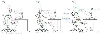 ergonomic desk setup. Computer Workstation Seating Posture Ergonomics Ergonomic Desk Setup