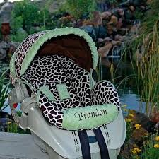 personalized baby car seat covers custom baby car seat cover giraffe no by smith