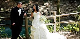 imagine walking down the aisle under a canopy of trees surrounded by nature your friends and family the riverwalk at lost river cave is a naturally