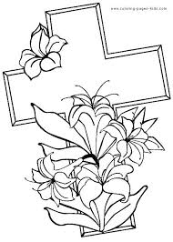 Easter Coloring Pages Free Coloring Religious Coloring Es Free Also