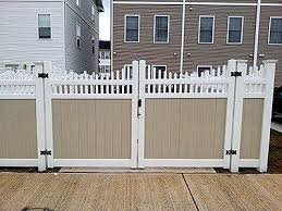 Vinyl fencing Pool When It Comes To Fencing There Are Number Of Materials Available And Now One Of The Most Popular Materials For Fences Is Vinyl Though Wooden Fences Look Fence One Vinyl Fencing Fence Arnold Baltimore Glen Burnie Columbia Md