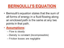 1 bernoulli s equation bernoulli s