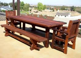 diy wood patio furniture. Furniture Tremendous Pictures Diy Outdoor And Large Wooden Garden Table Chairs Images Rustic Of Wood Patio
