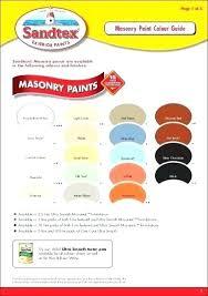 Sandtex Paint Chart Masonry Paint Colours All Seasons Masonry Paint Colors