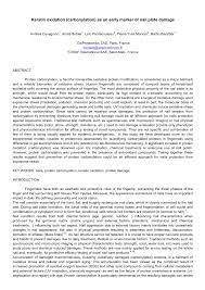 pdf keratin oxidation carbonylation