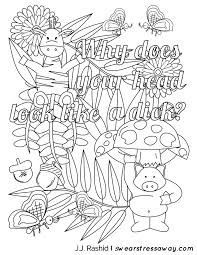 Small Picture 418 best swear words images on Pinterest Coloring books