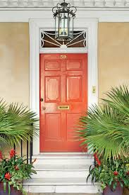 Paint Colors Hot House Tomato Alamy 19 Bold Front Door Colors Southern Living