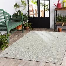 lr home sun shower blue indoor outdoor area rug 8 x 10