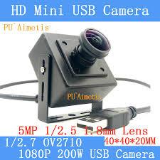 Satın al 1/2 Pu'aimetis Full Hd Mp 1080p H. 264 30 Fps Yüksek Hız.7 Ov2710  1.8 Mm 170 Derece Güvenlik Kamerası Linux Uvc Mini Usb Kamera - En Iyi /  MartModern.news