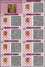 Animal Crossing Happy Home Designer Qr Codes Paths Acnl Zen Path Qr Codes Google Search Animal Crossing