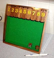 Wooden Math Games Shut the Box 100100 Wooden Math Game Invenio Toys 72