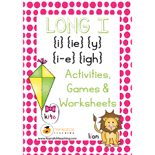 Long I Activities, Games & Worksheets - Top Notch Teaching